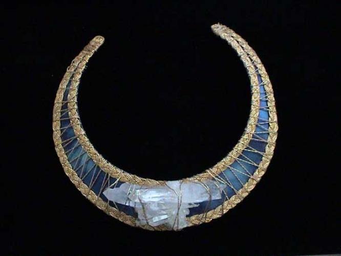 Atlantean Goddess Titanium Collar