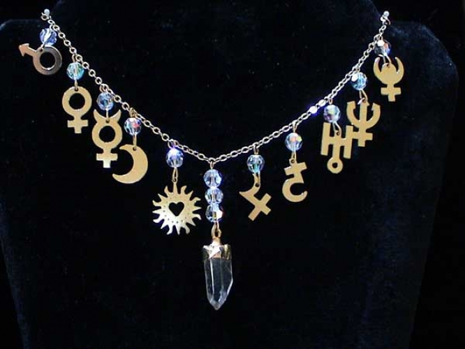 AstroCharms Solar System Necklace.