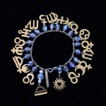 AstroCharms Zodiac Birthday Bracelet