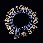 AstroCharms Zodiac Birthday Bracelet