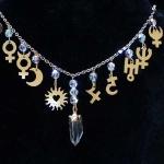AstroCharms Solar System Necklace.