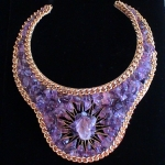 Atlantean Queen Amethyst Goddess Collar